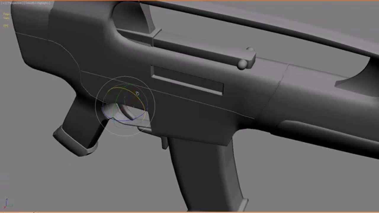 Xm8 Compact Carbine XM8 compact carbine 3ds max
