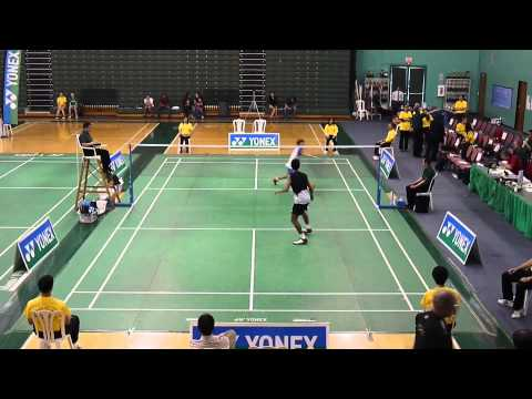 2013 USA Badminton Adult National Championships Men's Single FINAL 1080P HD