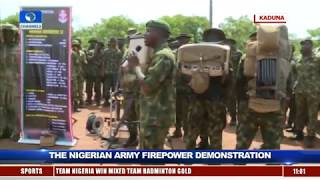 Nigerian Army In Show Of Capacity With Firepower Demonstration Pt.3 |Live Event|
