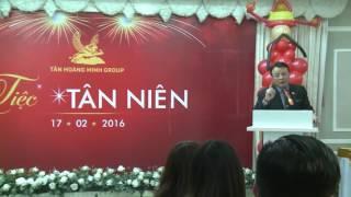 Chủ tịch Tân Hoàng Minh phát biểu