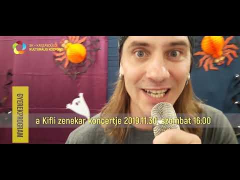 a Kifli zenekar koncertje a 3K-ban 2019.11.30. szombat 16:00