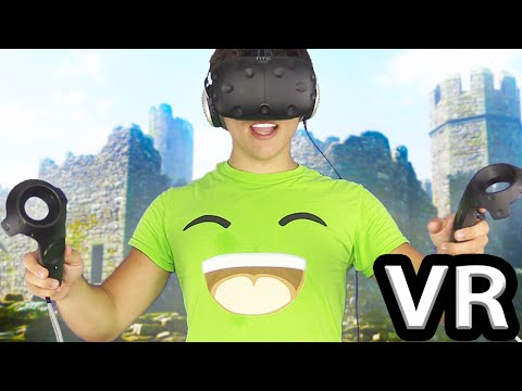 BEST VIRTUAL REALITY GAMES EVER! (HTC Vive)