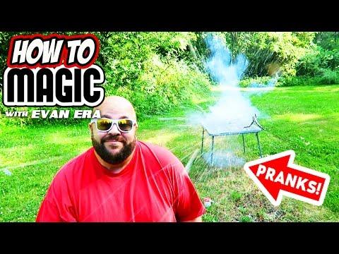 10 How To Magic Food Pranks!