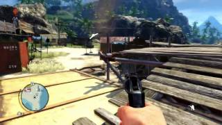Far Cry 3 - 13 Minutes of Open World Gameplay, Welcome to Amanaki Village.