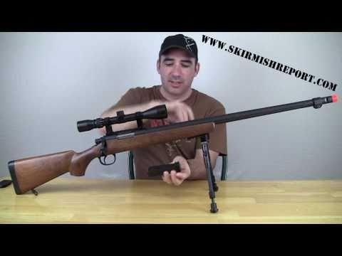 TSD SD702 Airsoft Sniper Rifle Review