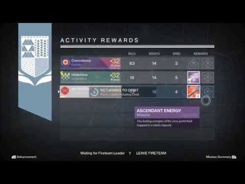Destiny - Nightfall Loot X3 Rewards (Weekly Nightfall Unknown Rewards 3 Times)