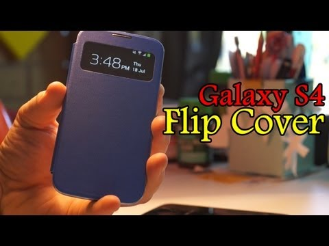 Samsung Galaxy S4 Flip Cover Review + Giveaway?!