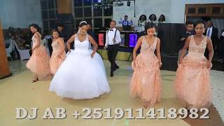 Tizu and Heni's wedding video - Ethiopian Wedding Group Dance