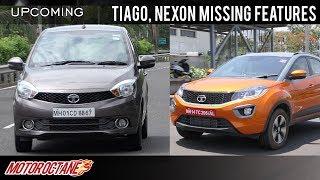Tata removes features from Tiago, Nexon, Hexa   Hindi   MotorOctane
