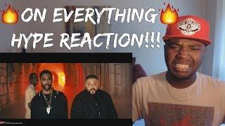 DJ Khaled - On Everything ft. Travis Scott, Rick Ross, Big Sean-HYPE REACTION!