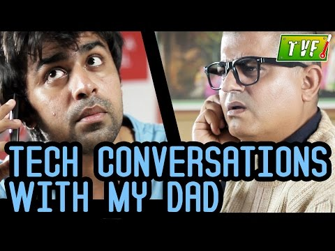 Tvf's Tech Conversations With Dad : Twitter video