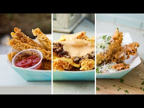 3 Delicious Deep-Fried Ramen Recipes