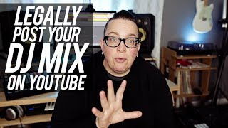 Stop your DJ Mixes from getting TAKEN DOWN | No copyright strikes!