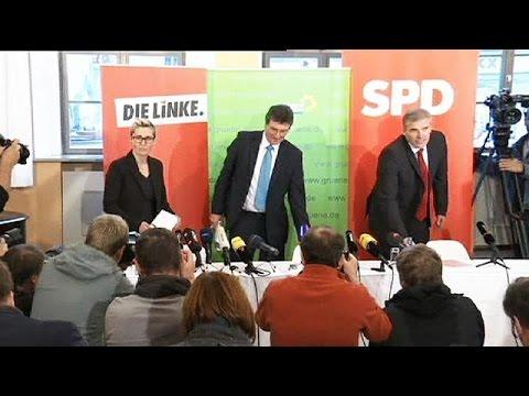 Allemagne: accord de coalition à gauche pour diriger un Land