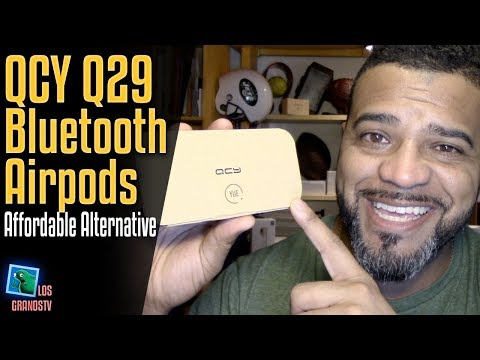 QCY Q29 Wireless Bluetooth AirPods an Affordable Alternative 🎧 : LGTV Review