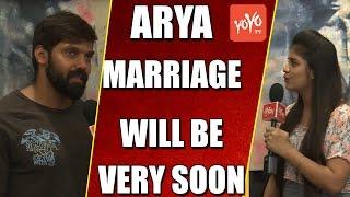 Special Chit Chat with Hero Arya | Mande Suryudu Movie | Hansika | YOYO TV Channel