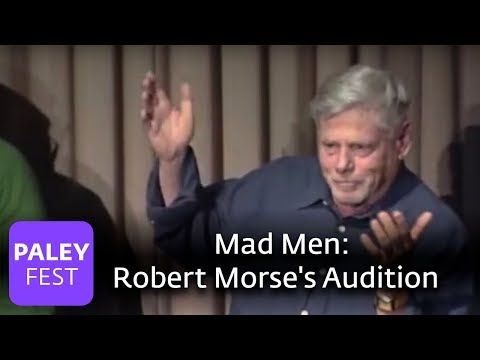 Mad Men - Robert Morse's Audition (Paley Center)