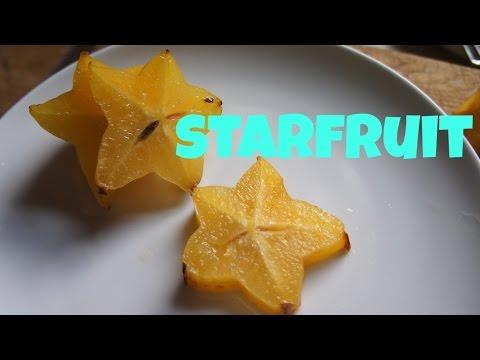 Tasting Starfruit or Carambola