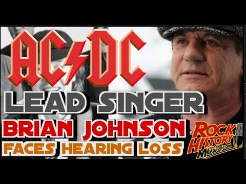 AC/DC Singer Brian Johnson Forced To Leave Band Tour by John Beaudin