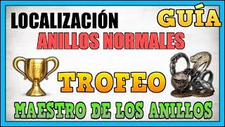 """Dark Souls 3 - Todos los anillos normales (Trofeo """"Maestro de los anillos"""")"""