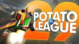 POTATO LEAGUE #29 (GIVEAWAY!)   Rocket League Funny Moments & Fails