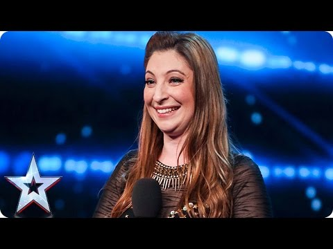 Jess Robinson wows with her many voices  | Auditions Week 1 | Britain's Got Talent 2017