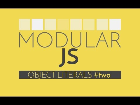 Modular Javascript #2 - Converting jQuery to an Object Literal Module