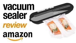FOOD VACUUM SEALER Amazon Review and Demo