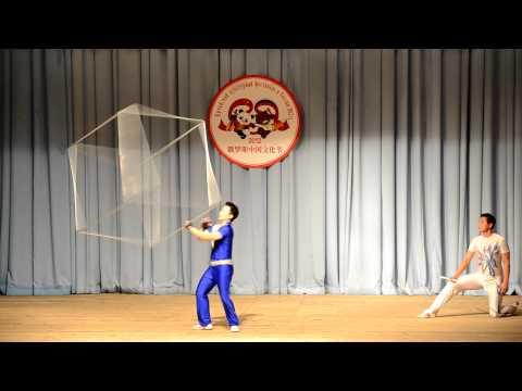 Цирк: Вращение куба / Rotate the cube / (旋转的立方体)
