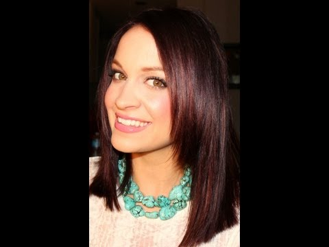 How To Color (Dye) Your Hair Burgundy at Home !  ❤