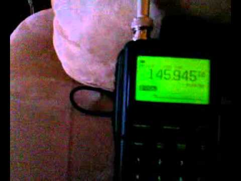 AO7 satelite received by ICOM R20
