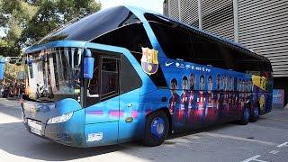 EL AUTOCAR DEL FC BARCELONA