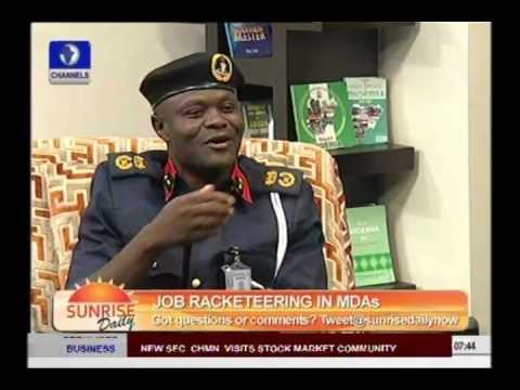 Employment Scam Can't Happen In Civil Defence -- Lagos Commandant Part 1