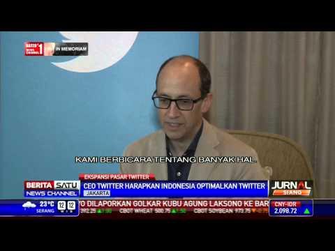 CEO Twitter Harapkan Indonesia Terus Mengoptimalkan Twitter