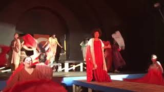 Dance of the Robe (Aida) Rehearsal Clip