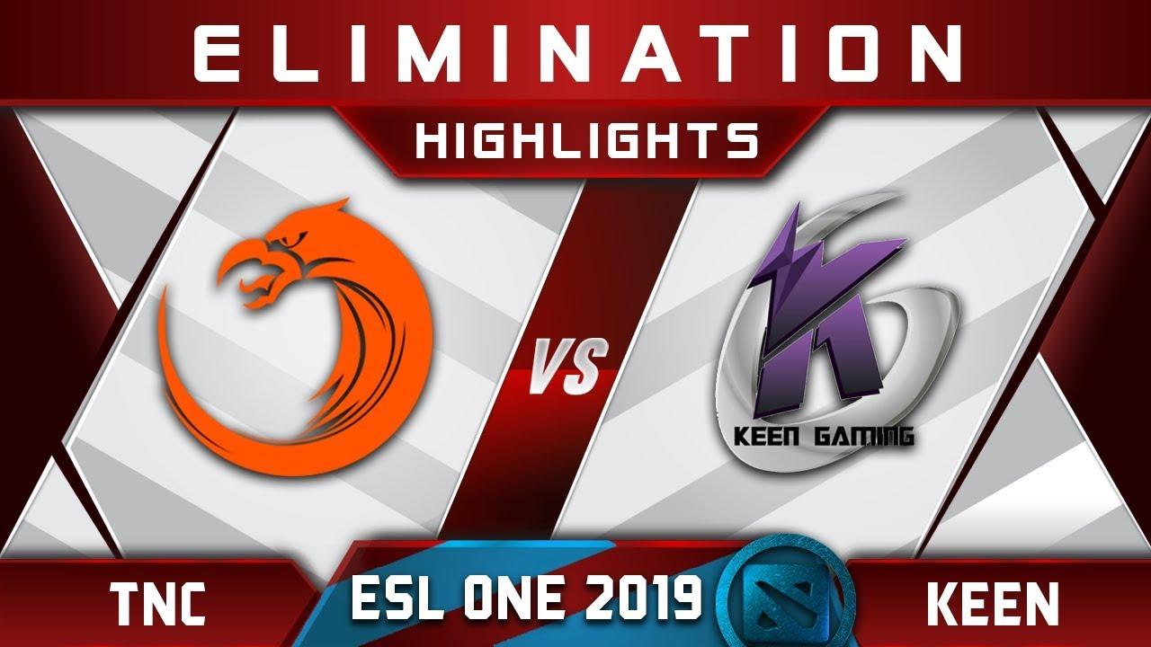 TNC vs Keen Gaming [TOP 3] ESL One Mumbai 2019 Highlights Dota 2