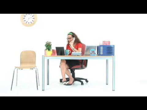 Learn English 28 - Office Phone