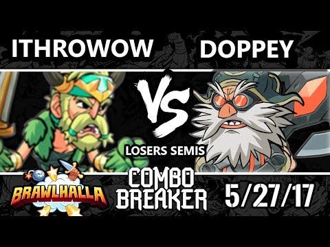 Combo Breaker 2017 Brawlhalla -STDX | iThrowow (Bodvar) vs Vexx | Doppey (Ulgrim, Azoth) - LS
