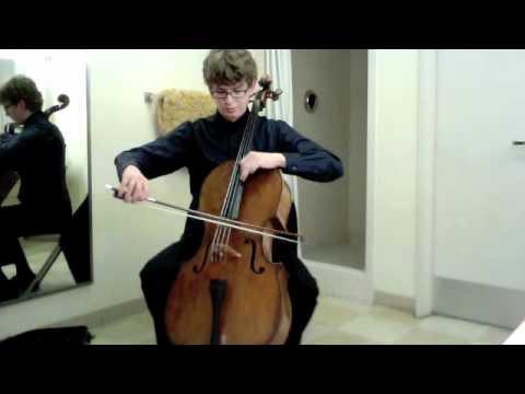 POPPER PROJECT #31: Joshua Roman plays Etude no. 31 by David Popper