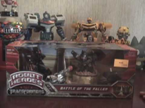 Review: Robot Heroes - Battle of the Fallen (Transformers: Revenge of the Fallen)