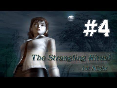 Fatal Frame / Project Zero - Nightmare Walkthrough Part 4 (1st Night: The Strangling Ritual)
