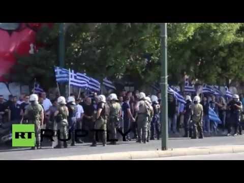 Greece: Jailed Golden Dawn leader sworn-in under police escort