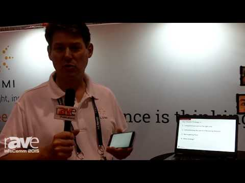 InfoComm 2015: Limi shows the Meetoo Real-Time Messaging and Polling App
