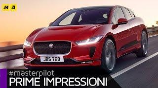 Jaguar i-Pace   SUV elettrica con 400 CV e 480 km di autonomia EV. Test prova