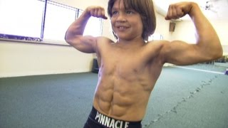 Kid Bodybuilder 39 Little Hercules 39 Is All Grown Up And Chasing A New Dream