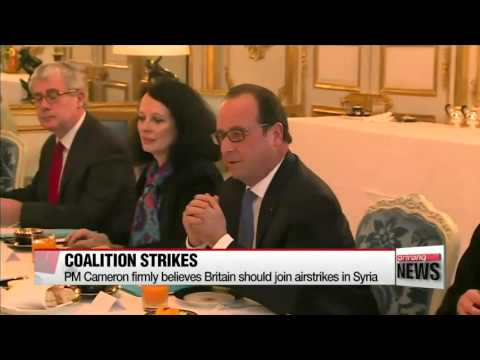 Hollande, Cameron discuss strategy against ISIS   올랑드, 카메론, IS 격퇴 작전상의