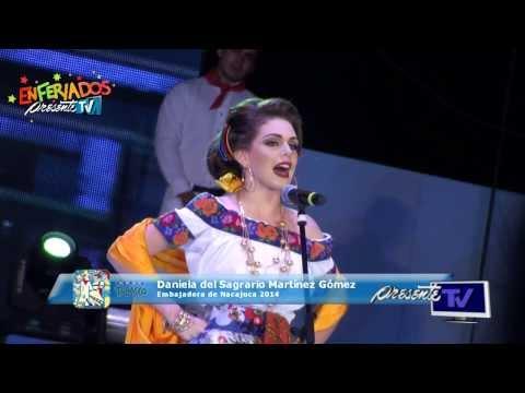 Imposición de bandas 2014 - Embajadora de Nacajuca, Daniela del Sagrario Martínez Gómez
