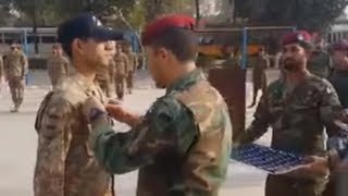 Pakistan army para wings wearing ceremony by SSG (PTS) 2017- the few  the proud SSG