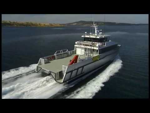 Limitless - 28.7m catamaran offshore support boat - YouTube