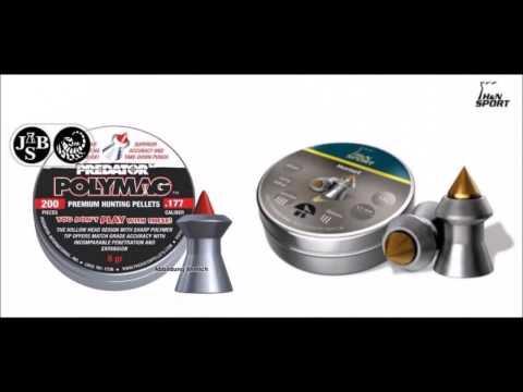 Predator Polymag Vs H&N Hornet Pellet. Chrony. Accuracy & Ballistics Test